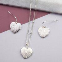 Heart Charm Jewellery Gift Set