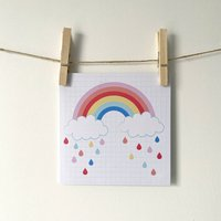 Rainbow Greetings Card