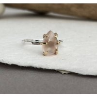 Brazillian Rose Quartz Ring