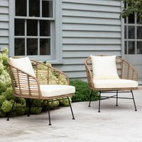 Pair Of Outdoor Armchairs