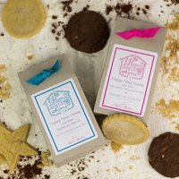 Personalised Happy New Home Cookie Mix, Pink/Teal
