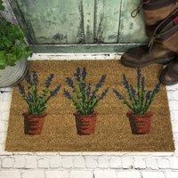 Lavender Country Coir Doormat