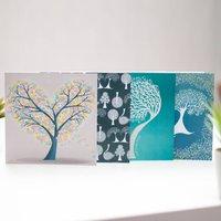 Illustrated Tree Greetings Cards