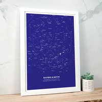 Personalised Star Map Illustration