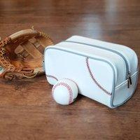 Genuine Baseball Ball Sports Wash Bag