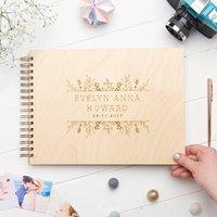Personalised New Born Memory Book