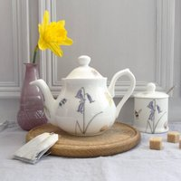 Bee And Spring Flowers Two Cup Small Teapot