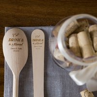 Eat Drink And Be Married Utensils Set
