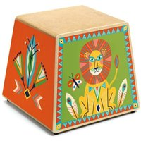 Colourful Kids Cajon Drum