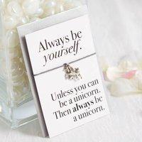 Unicorn Handmade Wish Bracelet