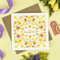 'Good Day Sunshine' Floral Card
