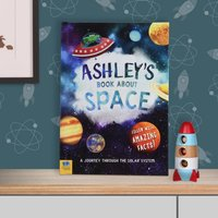 Personalised Book Of Space