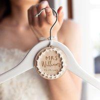 Personalised Bridal Hanger Charm