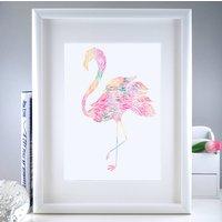 Flamingo Art Print | Housewarming Gift