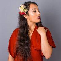 English Hedgerow Rose Hydrangea Hairclip Corsage