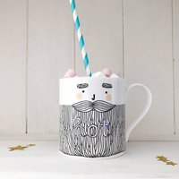 Hot Bearded Man Mug