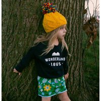 Book Lover 'Wonderland' Varsity Sweatshirt