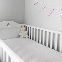 Fitted Cot Bed And Single Sheets