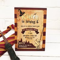 Wizards And Witches Party Invitations Pack Of 20