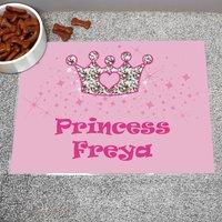 Personalised Princess Pink Food Placemat