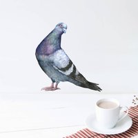 Sassy Pigeon Wall Sticker