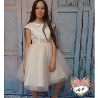 Raven ~ Flower Girl Or First Communion Dress