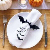 Halloween Bat Napkin Set Of Two