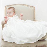 Boys Silk Christening Gown 'Luke', Ivory/White