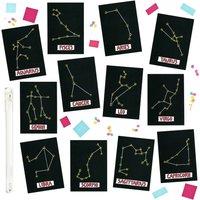 Star Sign Constellation Birthday Cards