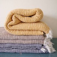Four Layers Soft Cotton King Size Muslin Blanket