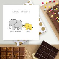 Scrumptious 1st Mother's Day Artisan Chocolate Card