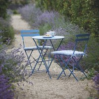 Small Bistro Set In Blue