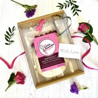 Raspberry And White Choc Pancake Gift Set With Cutter