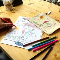 Personalised Draw Your Own Pencil Case