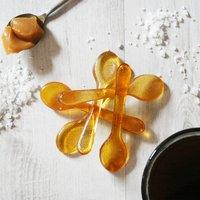 Salted Caramel Sugar Spoons