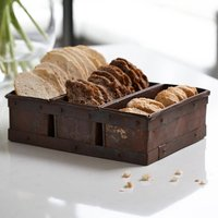 Reclaimed Loaf Tin Bread Basket