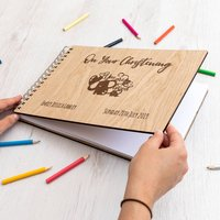 Personalised On Your Christening Guest Book