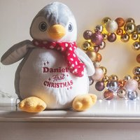 Personalised First Christmas Penguin
