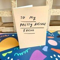Average Friend Card
