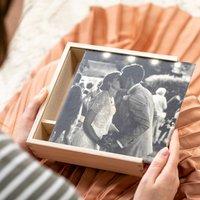 Personalised Wedding Photograph Keepsake Box