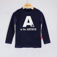 Personalised Alphabet Baby T Shirt