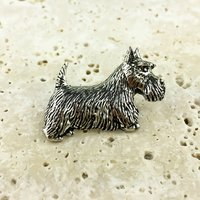 West Highland Terrier 'Scottie' Dog Tie Pin
