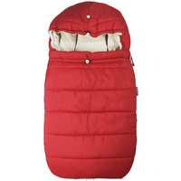 Footmuff For Pushchair And/Or Car Seat, Cherry/Red/Snow