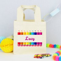 Personalised Teacher 'Pencil Case' Lunch Bag