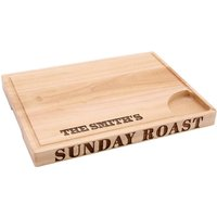 Personalised Sunday Roast Meat Carving Board