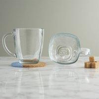Personalised Pregnancy Announcement Glass Mug