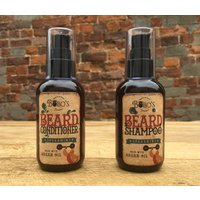 Beard Shampoo And Conditioner Wash Set