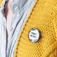 Today I Am Kind Enamel Lapel Pin Badge