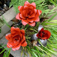 Rose Sculpture Set Of Three