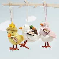 Personalised Chick Hanging Decoration